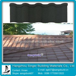 Good Price Aluminum Roof Tile For Sun Stone Coated Metal Roofing Sheets