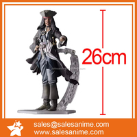 CRAZY TOYS Movie Pirates of the Caribbean Jackie Jack Sparrow Action Figure Figma