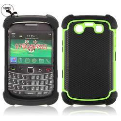 Cheap Mobile Phone Case For Blackberry 9700 with 3 in 1