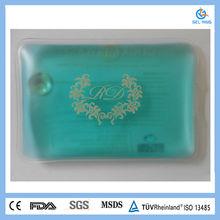 rectangle reusable gel portable pocket mini hand warmer