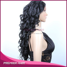 top quality high temperature synthetic wig synthetic kinky curly lace front wig