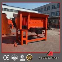 70-200t/h China Famous Band Rockymac High Quality Heavy Linear Vibrating Feeder