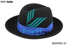 High quality fashion wool felt child hat