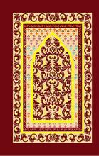 soft touch customized back muslim pray mat for ramadan