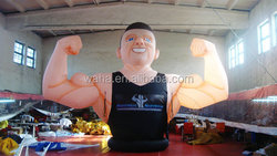 2015 customized inflatable muscle man/inflatable human