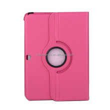 Rotating cartoon tablet leather case for Samsung Galaxy Tab 4 T530