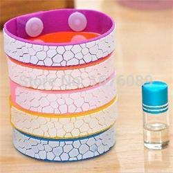 Fashion 2014 natural cute Anti Mosquito Bug Repellent Bracelet/Wrist Band Natural No Insects