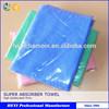 colorful super soft anti-bacterial chamois pva pet towel