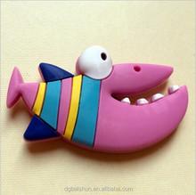 fish shape soft pvc fridge magnet
