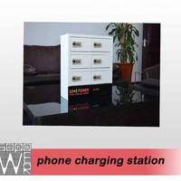 Sopower China charging station 2014 coin operated phone charging station
