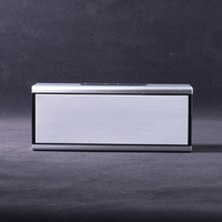 high end unique design 5w *2 aluminium case bluetooth speaker with siri TF card USB reader nfc functions
