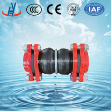 High quality union threaded rubber joint in pipe fitting