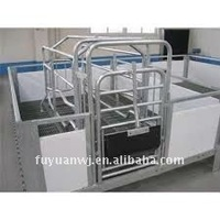 galvanized steel farrowing stall cage
