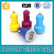 Universal car charger cheap 1.0 / 2.0 A car charger 2 port , dual port for car charger