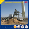 60m3/h HZS60 portable concrete batching plant, stationary concrete batching plant