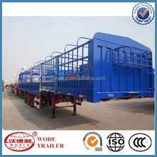China High Quality Cargo Transport Truck Semi Trailer With CCC and ISO
