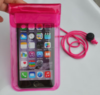 Cheapest Hot Waterproof bags water resistant dry bag for mobile phone High quality Factory