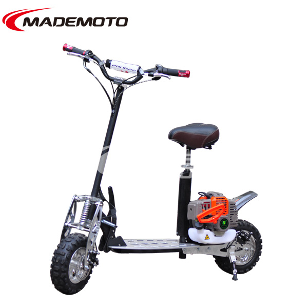Folding cheap 49cc gas power mobility scooter buy gas for Cheap gas motor scooters