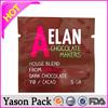 Yason ldpe printed ice bagprinted dry cleaning bagbib liquid bag in box