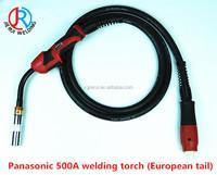 welding consumables hot air welding gun for otc 500a mig co2 welding machines