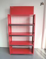 Attractive and durable metal motor oil display rack