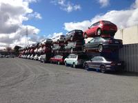 Mingsheng warehouse tire car storage from China