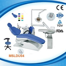MSLDU04W New adjustable Dental Chair for sale with 10 Dental Chair accessories