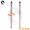 Shibell custom for women to touch pen, stylus, rotating beautiful metal pen gift