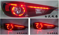 DLAND MAZDA 3 SEDAN LED TAIL LIGHT/REAR LAMP ASSEMBLY, TYPE HONEYCOMB, FOR MAZDA AXELA