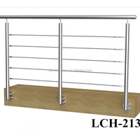 Cheap cable hardware kits/stainless steel balcony railing