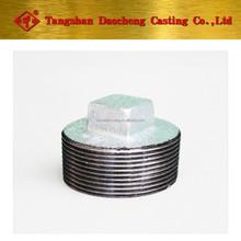 290 Plug Galvanized & Black Malleable Iron Pipe Fittings