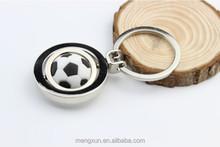 2015Personality games football key pendant creative metal key chainkey ring chain keychain