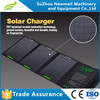 New design 28w Foldable Solar Panel Powered Portable Solar Charger Bag laptop
