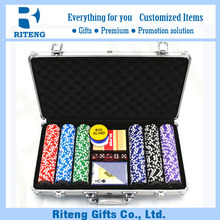 Aluminum Case China Custom Casino Chip Set