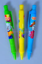 New Arrival New Design Feature Cartoon Ballpoint Pen With Good Qualtiy/Factory price Promotional Plastic Ball Point Pen