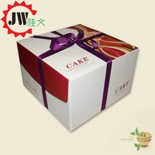food packaging recycled materials square paper cake box for health food