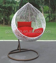 Luxury Outdoor Swing Basket Lounger indoor swing chair new year promotion