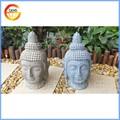 Hogar y jardín religiosa decorativo resina buddha head