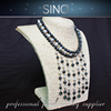 low price wholesale latest design beads necklace freshwater pearl necklace women necklace design