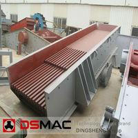 Small Vibrating Crusher Feeder, Feeding Machine With ISO9001 From OEM Manufacture