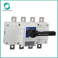 SGL series 63A-2500A DC 1000V disconnector switch load break isolating switch