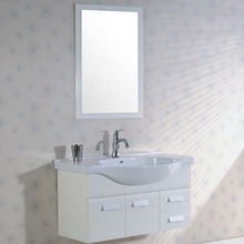 MDF/PVC bathroom cabinet bathroom funiture for Australia market