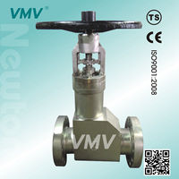 ANSI Bellows Seal Globe Valve For High Pressure With Medium Temperature