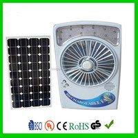 Creative top sell electric table solar fan