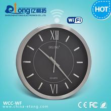 Convert Wall Clock type Spy CCD Analog CCTV camera to WIFI IP camera