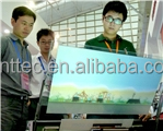 58 inches 2 points Capacitive Touch Screen Foil Film through galss shop, SideTail