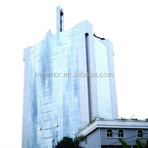 Curtain Wall Building Design : Stick glass curtain wall for building facade with design