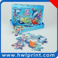 joyful toy children game magic paper growing toy