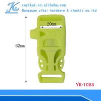 Hotsale 20mm plastic buckle flat side release buckle side release buckle 20mm