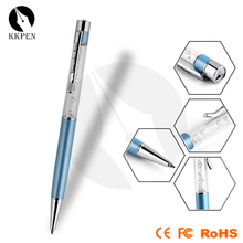 Shibell crystal ball pen, sparkling thin ballpoint pen